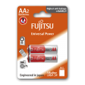 Fujitsu Alkaline Universal Power AA 2pcs Batteries Pack
