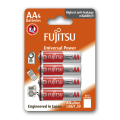 Fujitsu Alkaline Universal Power AA 4pcs Batteries Pack